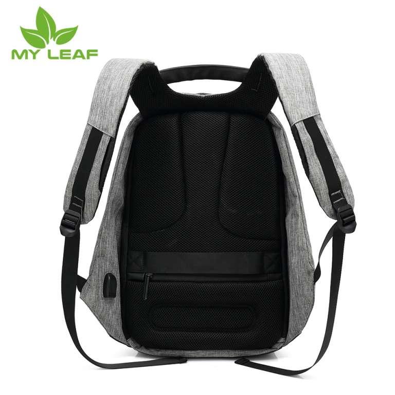 MYLEAF FDB01GY  กระเป๋าเป้กันขโมย(สีเทา)