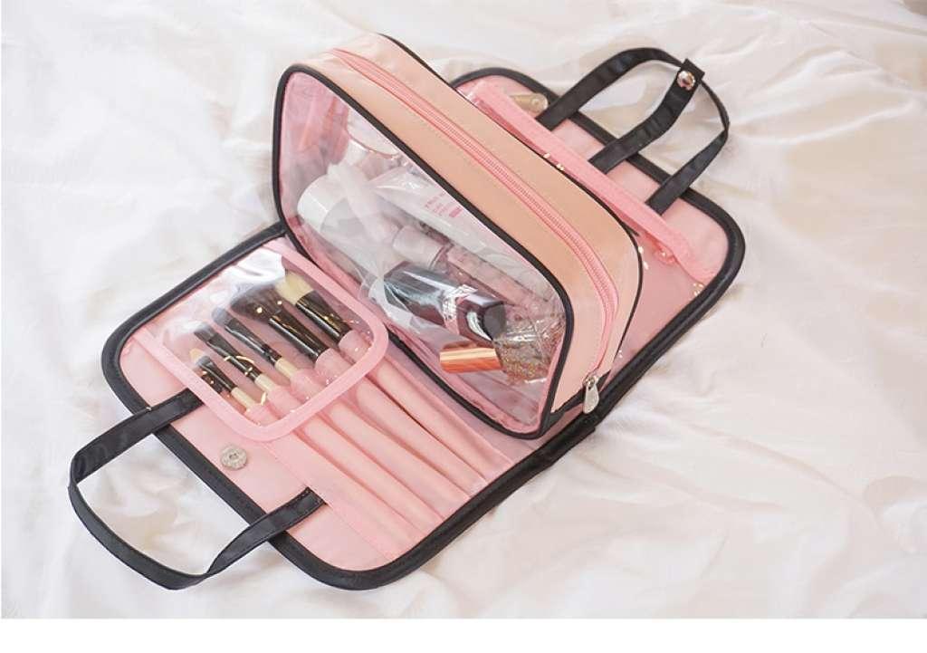 กระเป๋าเครื่องสำอาง กระเป๋าจัดระเบียบ กระเป๋าพบพาเดินทาง  กระเป๋าสไตล์เกาหลี