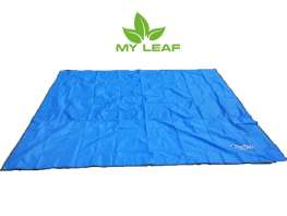 MY LEAF BUFD01BU เสื่อปิคนิค ผ้าปูพื้น แผ่นรองนอน แบบกันน้ำ ขนาด 240 x 220 cm (สีฟ้า)