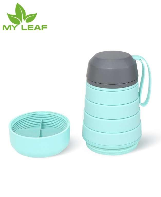ถ้วยซิลิโคนพับได้ ถ้วยกาแฟแบบหลุมแบบพกพาพับได้ ถ้วยน้ำชาพับได้ แก้วน้ำพับได้ แก้วสำหรับในร่มกลางแจ้งพับได้