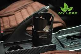MY LEAF MCHG1BK ที่วางแก้วน้ำในรถและที่เก็บของในรถ เอนกประสงค์ (สีดำ)