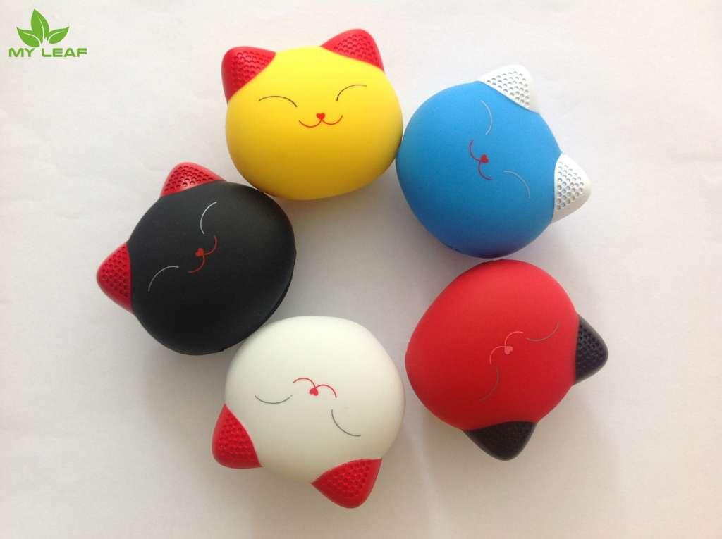 สาย 3in1 มี 3 หัวในสายเดียว  สายชาร์จ 3 หัว ซิลิโคนลายการ์ตูนเมวน้อยแมวนำโชคแมวโชคลาภ