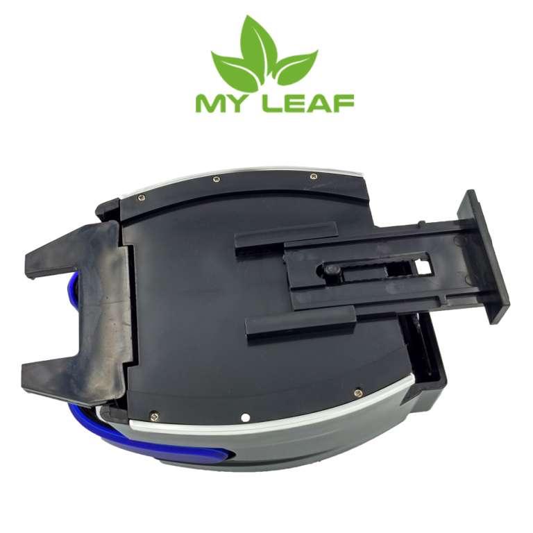 MY LEAF AXA8BU ที่วางแก้วน้ำที่วางขวดน้ำและมือถือในรถยนต์แบบเสียบช่องแอร์ (สีน้ำเงิน)