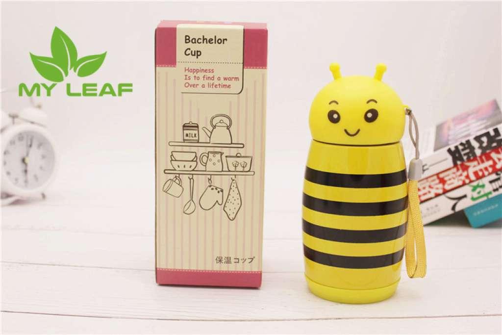 แก้วน้ำสแตนเลสสูญญากาศลายผึ้ง