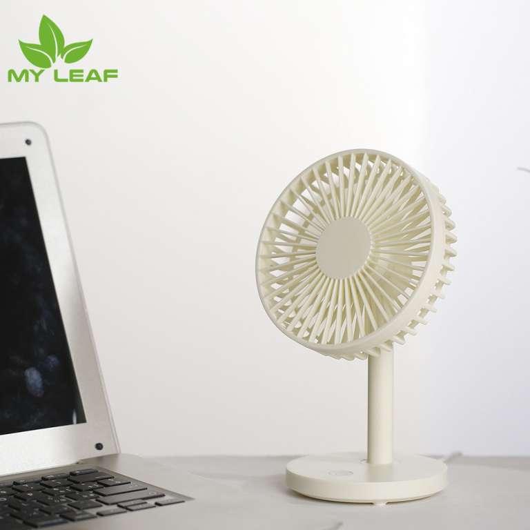 Mini Desk Fan พัดลมตั้งโต๊ะ  พัดลมพกพาขนาดเล็ก สายชาร์จUSB ลมแรง