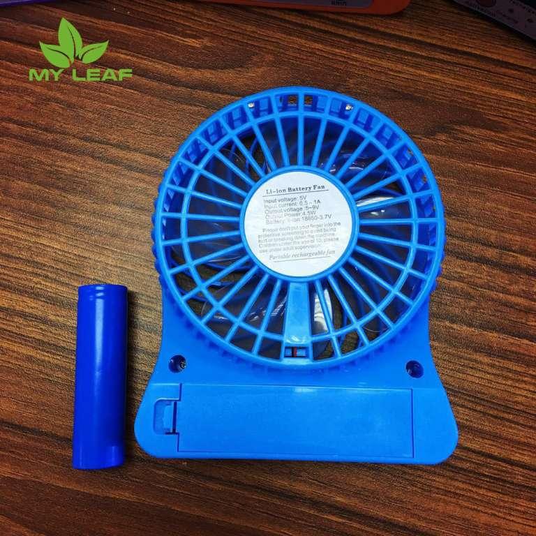 Mini fan พัดลมตั้งโต๊ะ พัดลมพกพาขนาดเล็ก