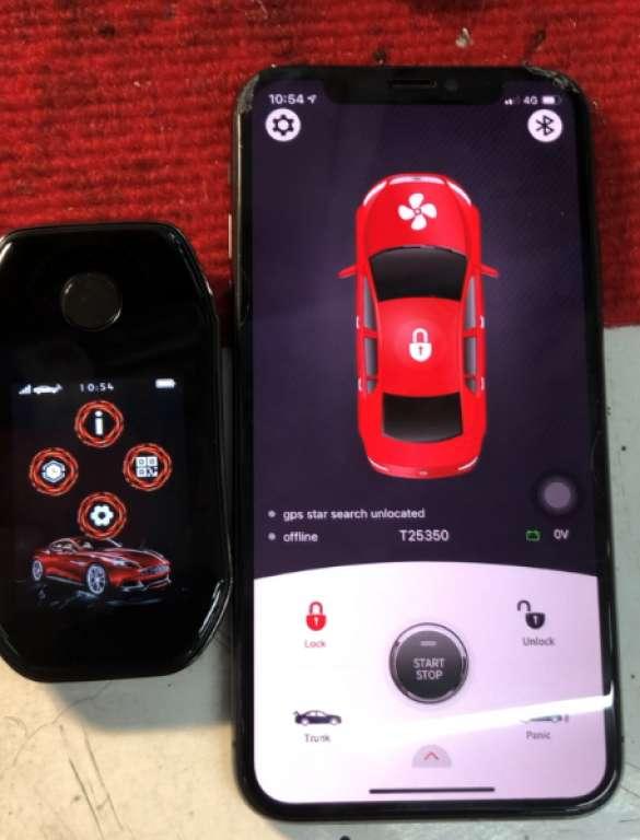 Internet smart car