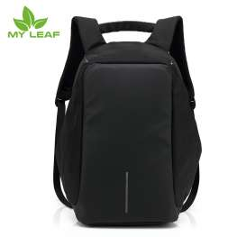 MYLEAF FDB01BK  กระเป๋าเป้กันขโมย(สีดำ)