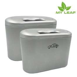 MYLEAF YJN01SV ถังขยะในรถ(สีเงิน)