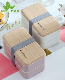 กล่องอาหารกลางวันหุ้มฉนวน/กล่องอาหารกลางวันสองชั้น /กล่องอาหารกลางวันขนาดใหญ่สำหรับพนักงานออฟฟิศ/Large-capacity lunch box
