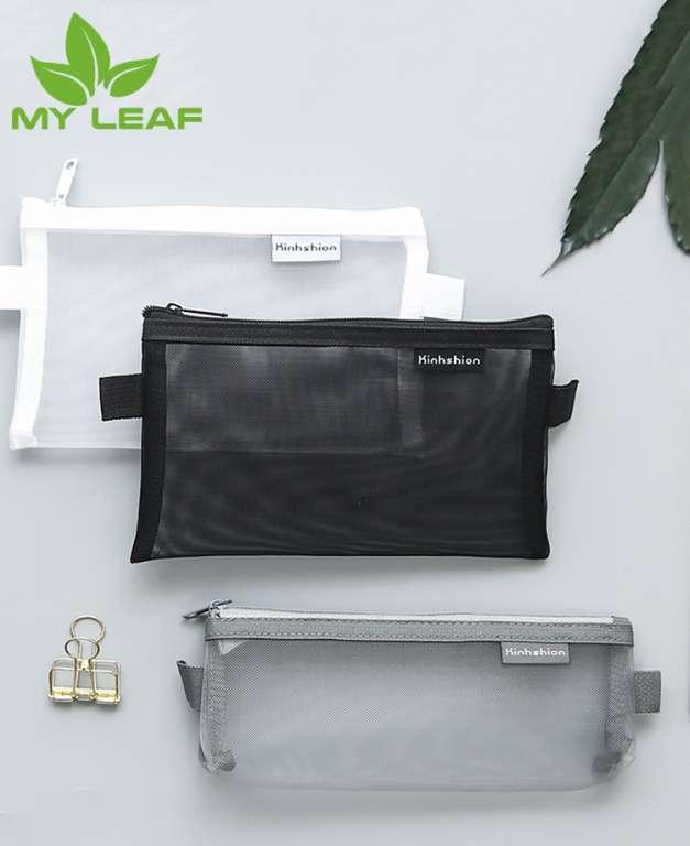 ถุงดินสอ ถุงปากกา ถุงเก็บของ ความจุขนาดใหญ่ สไตล์เกาหลี มัลติฟังก์ชั่น Pencil bag, pen bag, large capacity storage bag, Korean style, multi-function