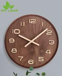 นาฬิกาแขวนสไตล์นอร์ดิก / นาฬิกาติดผนัง / Wall clock