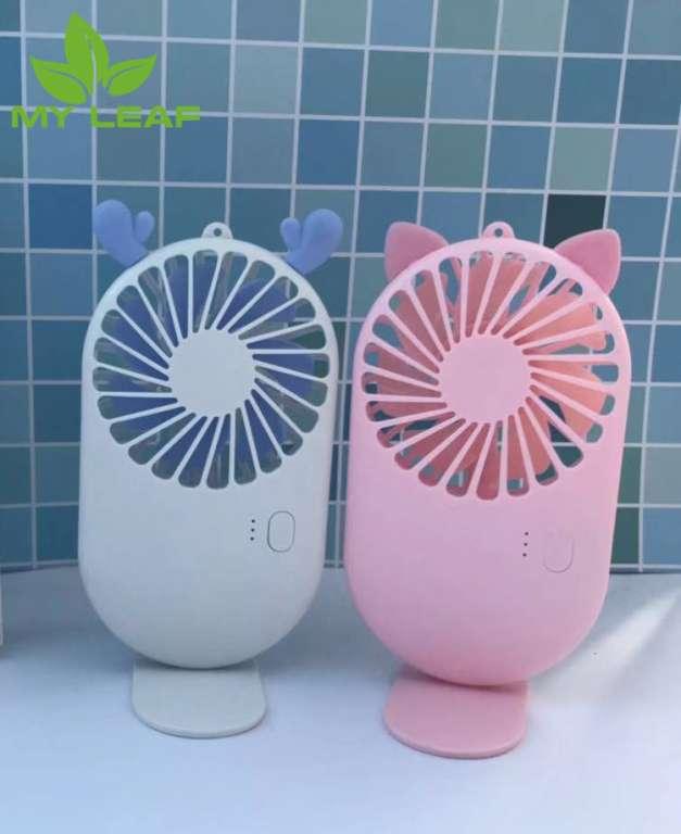 Mini Fan พัดลม พัดลมพกพาสดวกขนาดเล็ก สายชาร์จUSB ลมแรง
