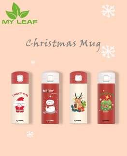 กระติกน้ำร้อน/กระติกน้ำร้อนคริสต์มาส/แก้วคริสต์มาส/ของขวัญคริสต์มาส/ตกแต่งคริสต์มาส/ของขวัญคริสต์มาสที่กำหนดเอง/Christmas mug