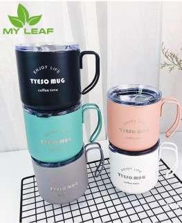 แก้วกาแฟสแตนเลส304 ถ้วยกาแฟแก้วน้ำoffice