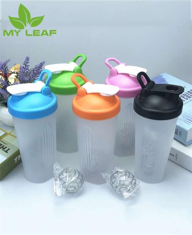 ขวดน้ำพลาติกแบบใส่ ขวดเครื่องปั้นผสมโปรตีน Bottle shaker