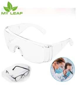 แว่นตาเซฟตี้ใส - แว่นตาอนามัย กันฝุ่น ไวรัส เชื้อโรค เสมหะ ของเหลว ละอองไอจาม เลือด เข้าตา แว่นตากันสารเคมี แว่นตากันเชื้อโรค/ Clear safety glasses - hygiene glasses to prevent dust, viruses, germs, sputum, liquids, droplets, sneezing, blood enterin
