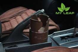 MY LEAF MCHG1BN ที่วางแก้วน้ำในรถและที่เก็บของในรถ เอนกประสงค์ (สีน้ำตาล)