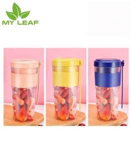เครื่องปั่นน้ำผลไม้มินิไฟฟ้าแบบพกพาที่มีชาร์จ USB /ถ้วยคั้นน้ำผลไม้/ถ้วยคั้นผลไม้เดินทางกลางแจ้งขนาดเล็ก BPA ฟรี (สีฟ้า/ชมพู)/Portable Mini Fruit Squeezer Cup with USB Charging/ Portable Juicer