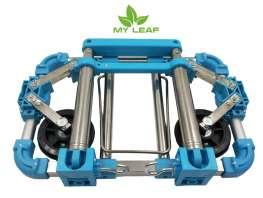 MY LEAF ETLG01BU รถเข็นขนของพับได้แบบพกพา (สีฟ้า)