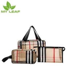 ถุงเก็บเครื่องสำอางโปร่งใส/กระเป๋าเครื่องสำอางมัลติฟังก์ชั่น/ถุงเก็บอเนกประสงค์/wash bag